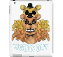 FIVE NIGHTS AT FREDDY'S-FREDDY-Lights Out iPad Case/Skin