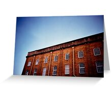 wool sheds Greeting Card