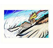 Mega Pidgeot | Hurricane Art Print
