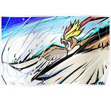 Mega Pidgeot | Hurricane Poster
