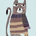 Thomson the cat by bri-b