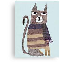 Thomson the cat Canvas Print