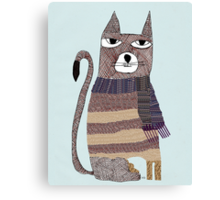 Thomson the cat Canvas Print