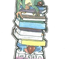 Love to Read by kurtmarcelle