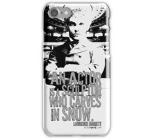 O For A Muse Of Fire: Lawrence Barrett Acting Quote iPhone Case/Skin