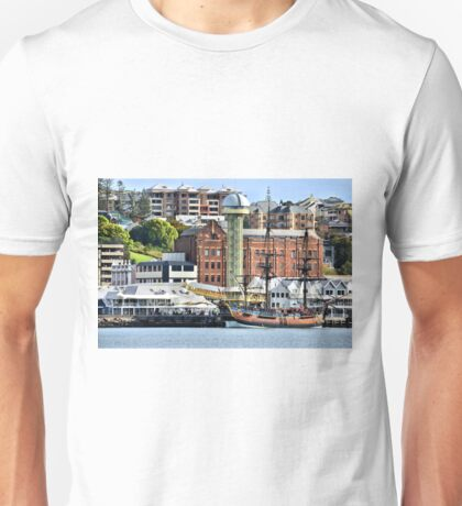 The Endeavour Sailing Ship - Newcastle NSW Australia Unisex T-Shirt