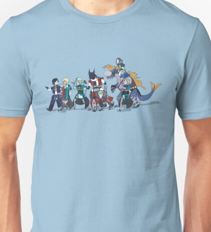 The Last Remnant Family Parade Unisex T-Shirt