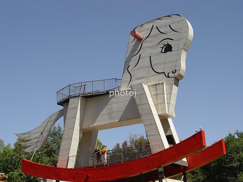 photoj South Australia-largest Rocking Horse by photoj