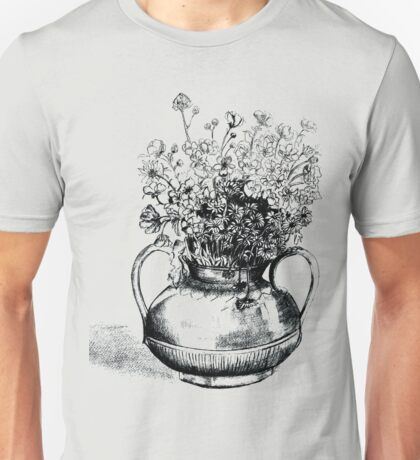 Flowers  in Tuscany  Unisex T-Shirt