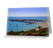 View from Langmore Gardens Greeting Card