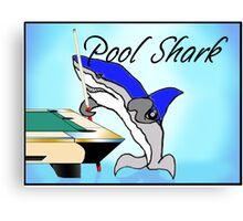 Pool Shark Challenge Canvas Print