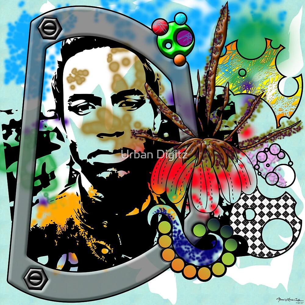 Urban Abstract Portrait 1a by Urban Digitz