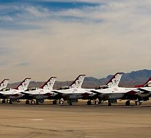 Thunderbirds by mikewheels