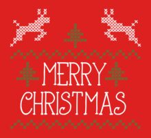 Merry Christmas knit design II by Richard Eijkenbroek