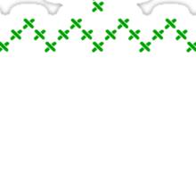 Merry Christmas knit design II Sticker