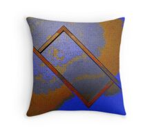 Abstract Rectangle Throw Pillow