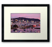 Windy Wellington Framed Print