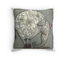 Olifant Throw Pillow