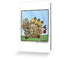 Race kip Greeting Card