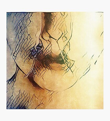 The cracks are beginning to show Photographic Print
