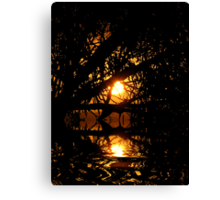 light within darkness Canvas Print