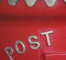 English postbox by Karen Gough