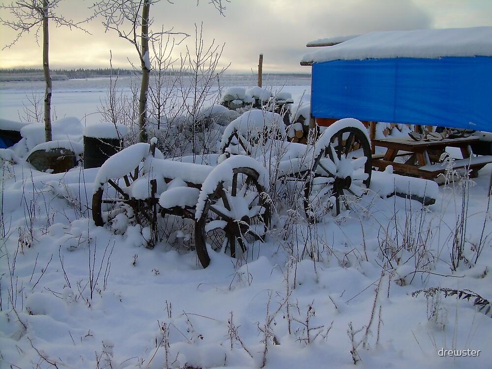 SnoRide in Beaver,Alaska  by drewster