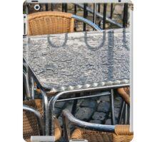 Empty Tables iPad Case/Skin