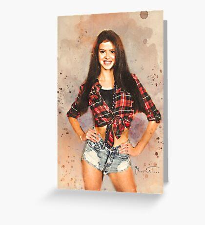 Leyla Greeting Card