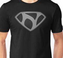 "The Letter N in the Style of ""Man of Steel"" Unisex T-Shirt"