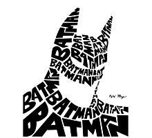 Batman  Photographic Print