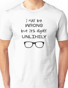 Smart-ass Geeky Funny Typography Unisex T-Shirt