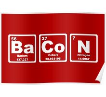 Bacon - Periodic Table Poster