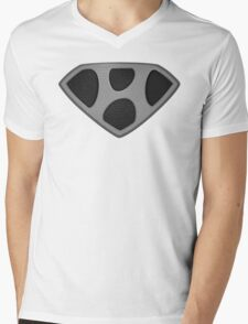 "The Letter H in the Style of ""Man of Steel"" Mens V-Neck T-Shirt"