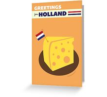 GREETINGS FROM HOLLAND [Cheese] Greeting Card