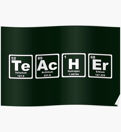 Teacher - Periodic Table Poster