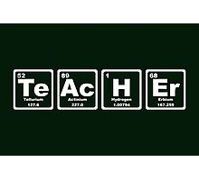 Teacher - Periodic Table Photographic Print