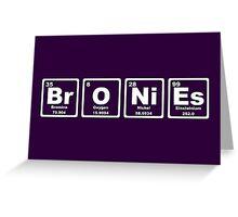 Bronies - Periodic Table Greeting Card