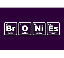 Bronies - Periodic Table Photographic Print