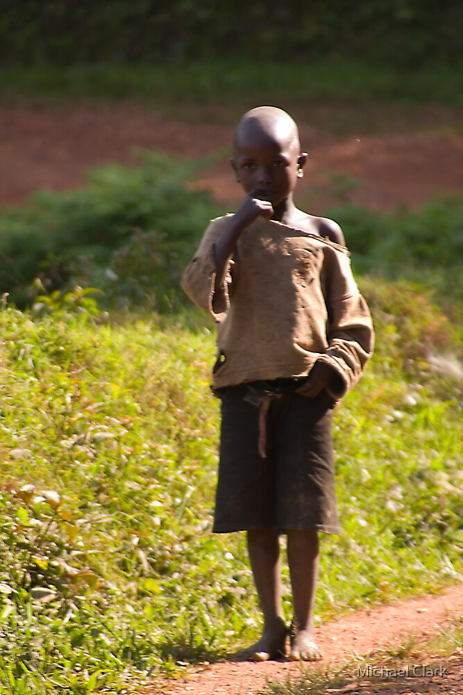 African Child by Michael Clark