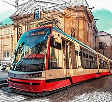 The Tram of Wishes. Prague by JennyRainbow