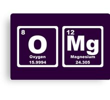 OMG - Periodic Table Canvas Print