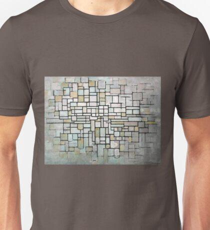 Piet Mondrian Composition No. II Unisex T-Shirt