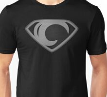 """The Letter C in the Style of """"Man of Steel"""" Unisex T-Shirt"""