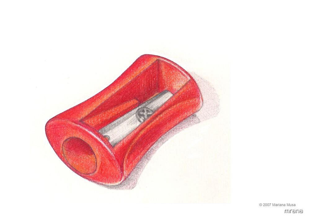 Pencil Sharpener by Mariana Musa
