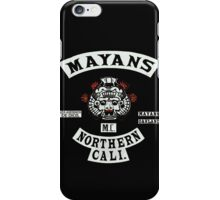 Mayans Biker Gang iPhone Case/Skin
