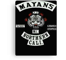 Mayans Biker Gang Canvas Print