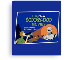 Scooby-Doo Meets Robocop Canvas Print