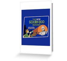 Scooby-Doo Meets Robocop Greeting Card