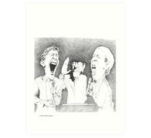 The Many Faces of Jit Murad Art Print